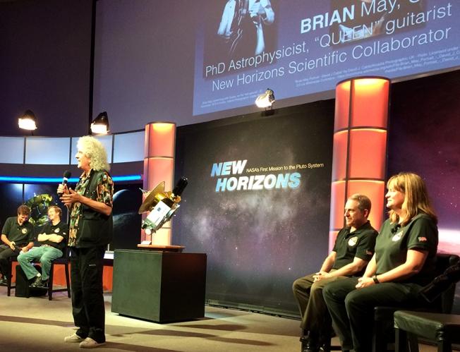 Brian May Keep Your Dreams Pluto Encounter
