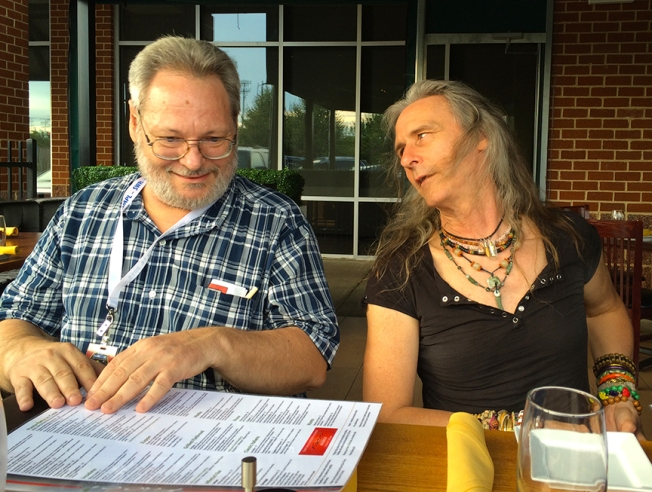 Don Davis and Carter Emmart Pluto Encounter
