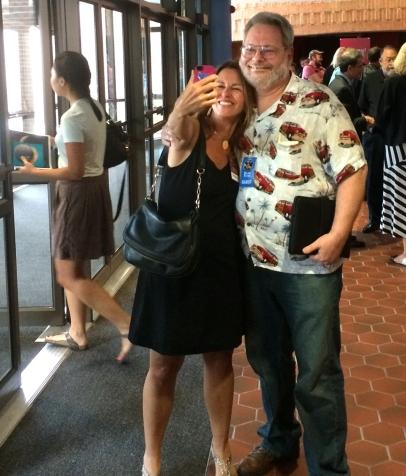 Pam Engebretson and Don Davis
