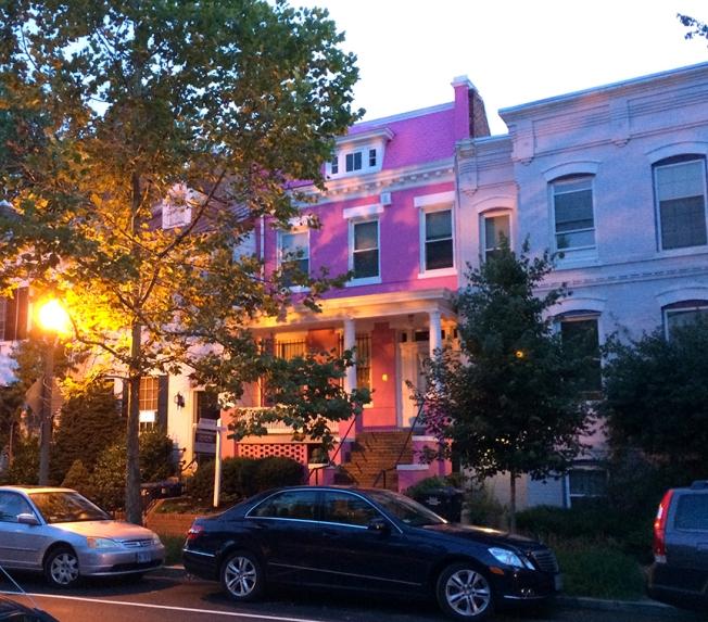 pink house on SE 6 DC