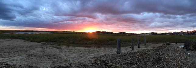 ptown sunset