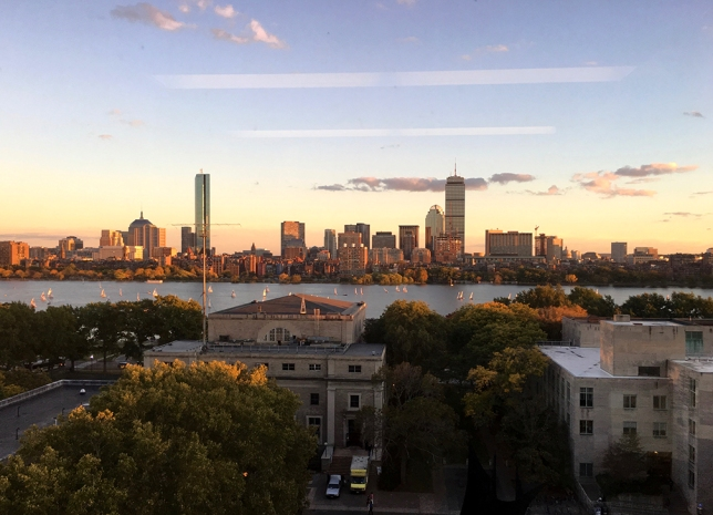 the view from Dogans window at MIT